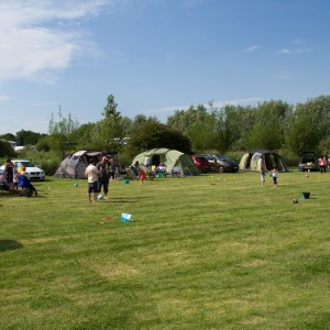 Camping at Fairfields Farm