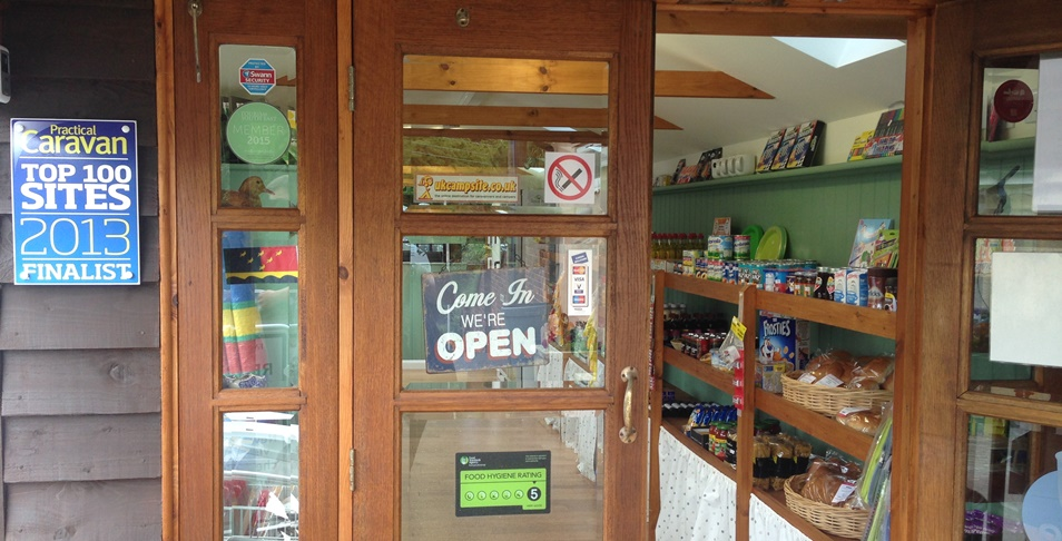 Fairfields Farm Campsite Shop & Reception